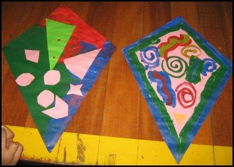 Homeschool Kite Making Activity Day